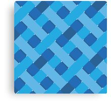 Blue Braid Canvas Print