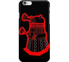 Red is dead! EXTERMINATE!!! iPhone Case/Skin