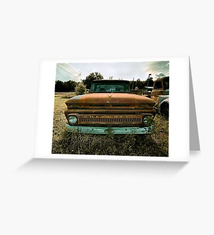 Abandoned 1964 Chevy C-10 Pickup Greeting Card
