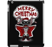 Flashing Through The Snow (B/W with text) iPad Case/Skin
