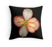 Begonia Throw Pillow