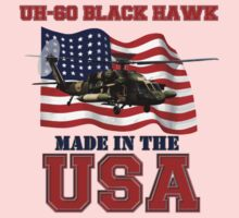 UH-60 Black Hawk Made in the USA One Piece - Long Sleeve