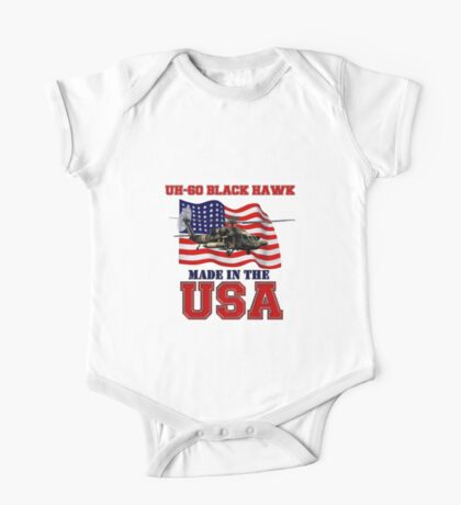 UH-60 Black Hawk Made in the USA One Piece - Short Sleeve