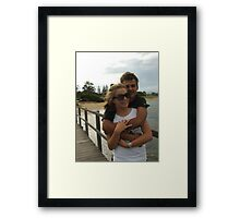 Young Love Framed Print