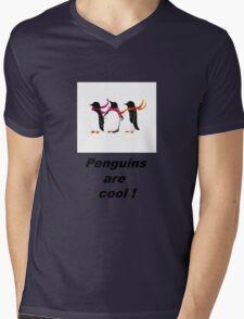 Penguins are cool  Mens V-Neck T-Shirt