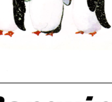 Penguins are cool  Sticker