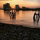 Cardiff Bay Sunset 3 by Neill Parker