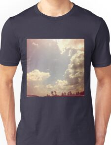 Summer Skies As Vintage Album Art Unisex T-Shirt