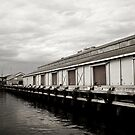 Hobart Docks by cowwws