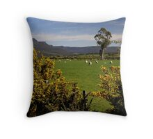 Tasmania, Meander Valley Throw Pillow