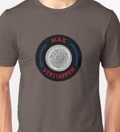 Max Verstappen - Tyre Unisex T-Shirt