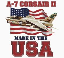 A-7 Corsair II Made in the USA Kids Clothes