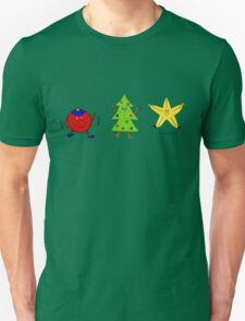Christmas characters - complete set  Unisex T-Shirt