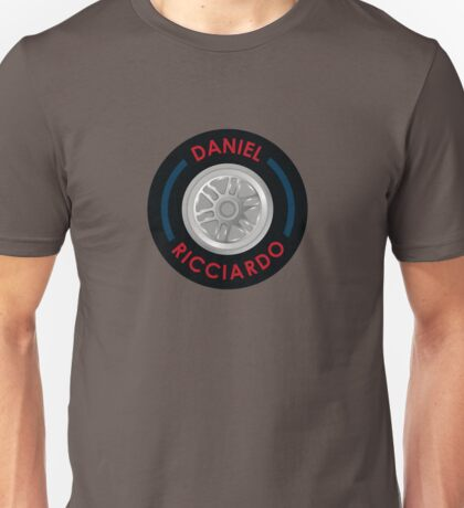 Daniel Ricciardo - Tyre Unisex T-Shirt
