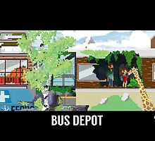 The Last Of Us Demastered - Bus Depot by Christian Geldart