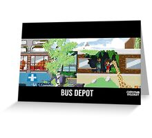 The Last Of Us Demastered - Bus Depot Greeting Card