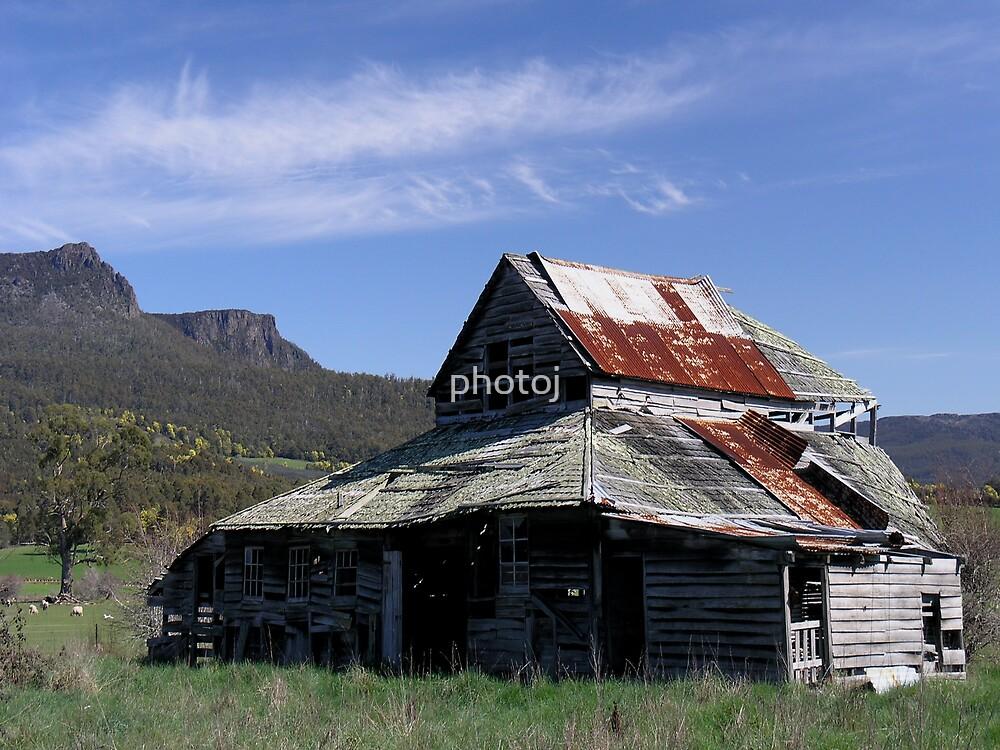 photoj, Tasmania, Meander Valley Mountain View by photoj
