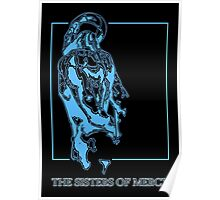 The Sisters Of Mercy - The Worlds End - Back Blue Poster
