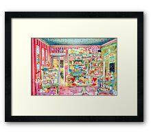 The Little Cake Shop Framed Print
