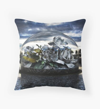Hope Under Glass Throw Pillow