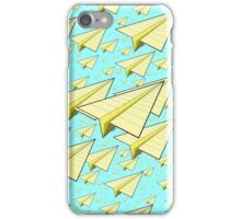 Paper Airplane 10 iPhone Case/Skin