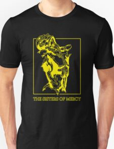 The Sisters Of Mercy - The Worlds End - Front Yellow T-Shirt