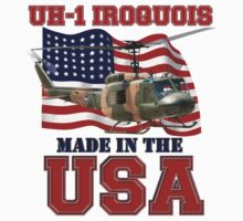 UH-1 Iroquois Made in the USA Kids Tee