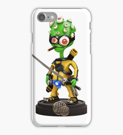 Kung-Fu Alien iPhone Case/Skin