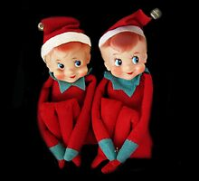 CHRISTMAS ELVES PILLOW AND OR TOTE BAG THE MAJIC OF CHRISTMAS by ✿✿ Bonita ✿✿ ђєℓℓσ