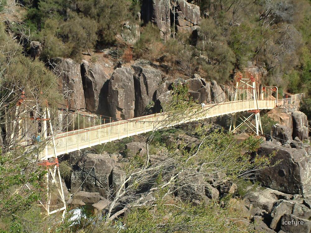 cataract gorge bridge by icefyre