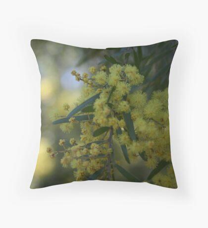 The Wattle Throw Pillow