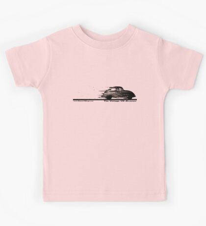 Classic VW BuGs Speedy Beetle The Vintage VW Movement Kids Tee