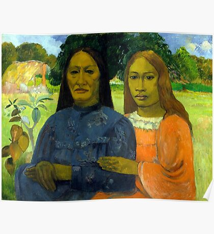 Paul Gauguin Two Women Poster
