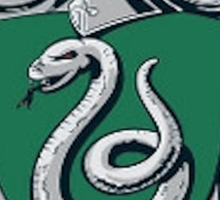 Slytherin Crest - Harry Potter Sticker