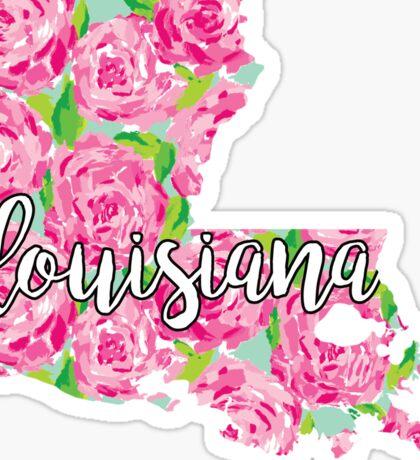 Louisiana Lilly Sticker