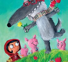 Not so Big Bad Wolf by colonelle