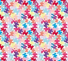 Puzzels for Autism - Pastel/Bright Color way by eliaeee