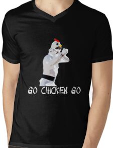 Chicken Attack  Mens V-Neck T-Shirt