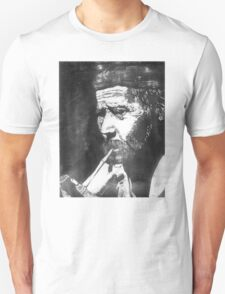 Old Man Smoking Unisex T-Shirt