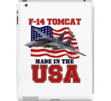 F-14 Tomcat Made in the USA iPad Case/Skin