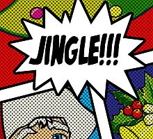 Pop Art Jingle Bells by SquareDog
