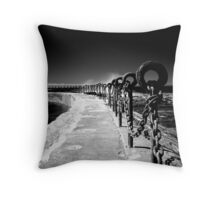 Chains & Posts Throw Pillow