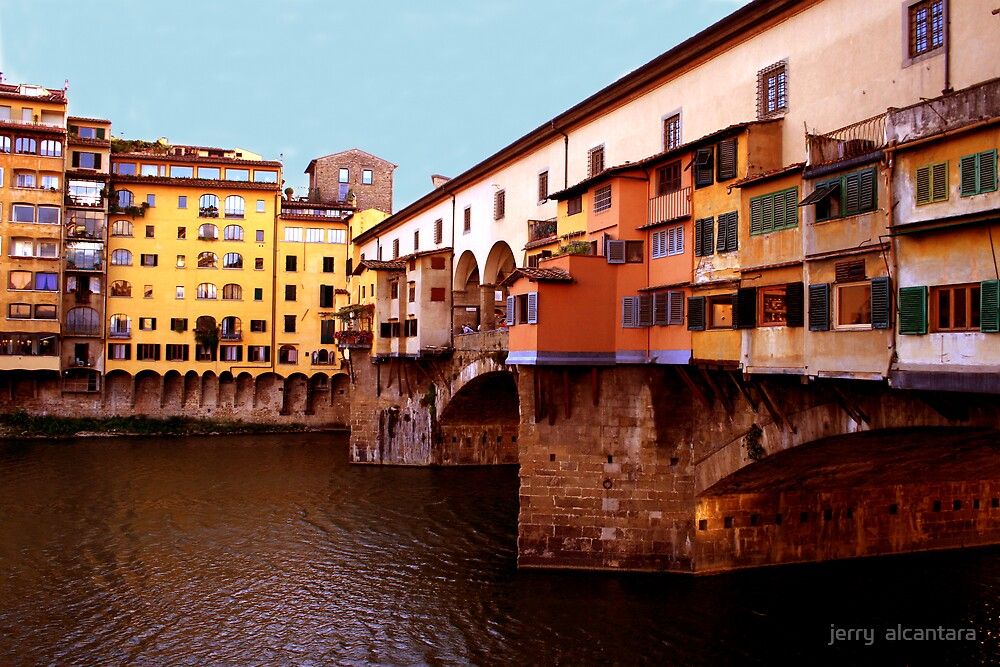 The old Bridge by jerry  alcantara