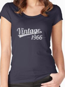 Vintage 1966 Women's Fitted Scoop T-Shirt