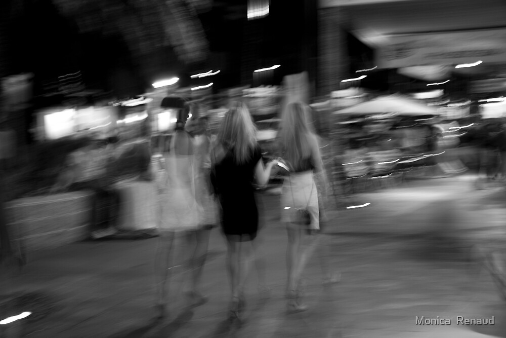 Summer Nights by Monica  Renaud