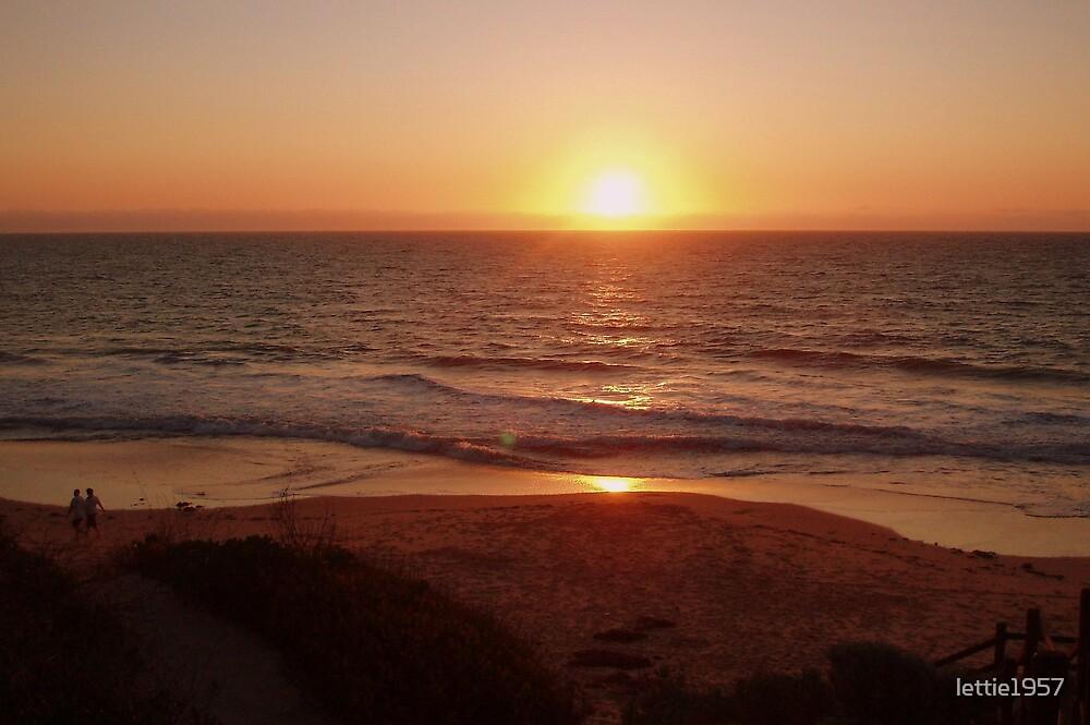 Sunset at Bunbury - Western Australia  by lettie1957