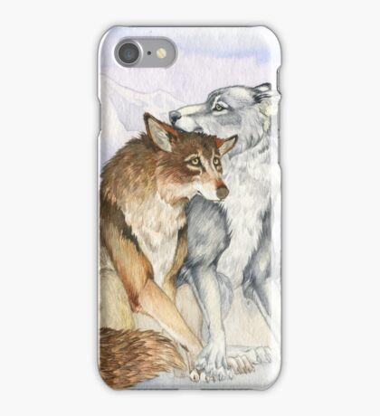 Arctic Werewolves iPhone Case/Skin