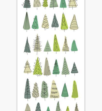 32 Trees Sticker