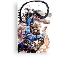 Hakaida Blue Canvas Print