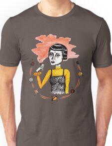 ~ Lady Luck ~ original ink drawing design Unisex T-Shirt